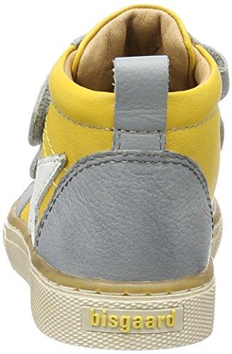 Bisgaard Klettschuhe - Zapatillas Unisex Niños Gelb (8001 Yellow)
