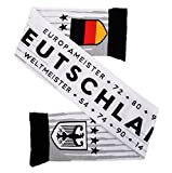 Deutschland Germany Soccer HD Knit Scarf White (Matches Jersey)