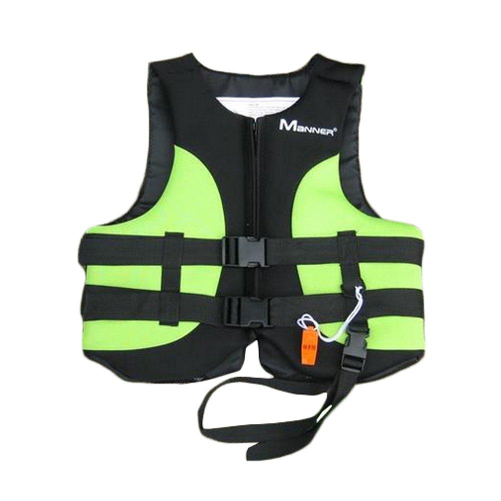 大人ライフジャケット承認Floatation Lifeベスト水泳ベスト( Mグリーン/ブラック)   B00VFXSEHM