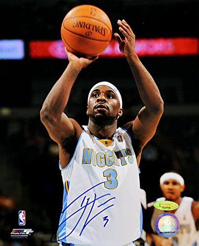 Tri Nugget (Ty Lawson Signed Autographed Denver Nuggets 8x10 Photo TRISTAR COA)