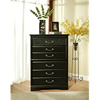 Sandberg Furniture Granada 5-Drawer Chest
