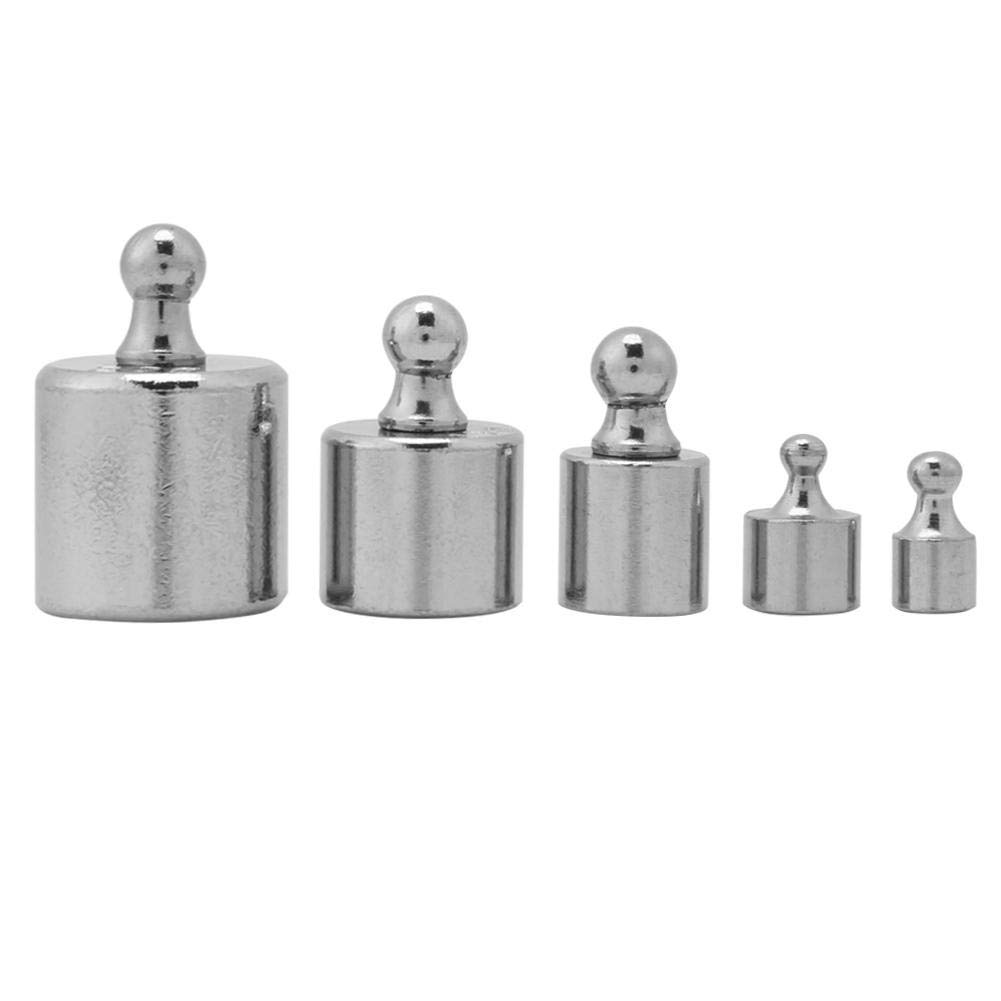 5Pcs Calibration Weight 1g 2g 5g 10g 20g Grams Precision Calibration Scale Weight Test Set Kit Wal front