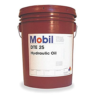 Mobil DTE 25, Hydraulic, ISO 46, 5 gal.