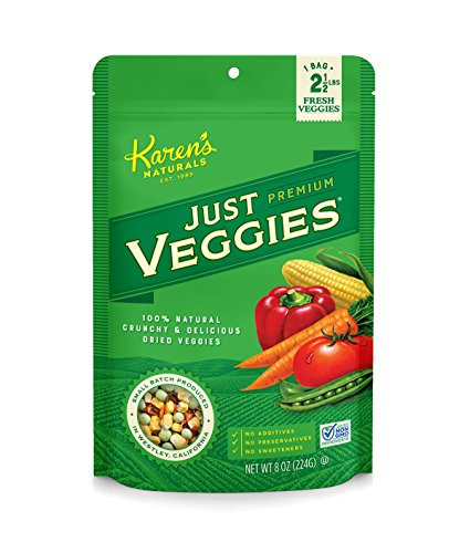 Karen's Naturals Just Tomatoes, Just Veggies Large Pouch, 8 Ounce (Packaging May ()