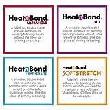 HeatnBond Lite Iron-On Adhesive Value Pack, 17