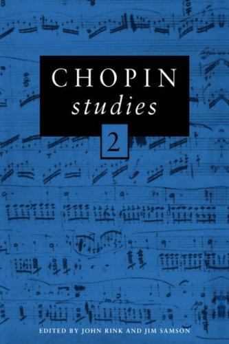Chopin Studies 2 (Cambridge Composer Studies) by Cambridge University Press