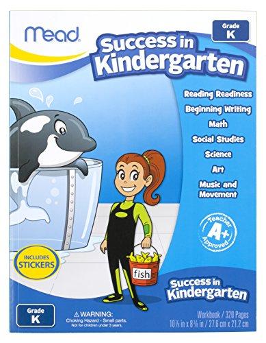 Mead Success In Kindergarten Workbook, Grades PK-K (48140)