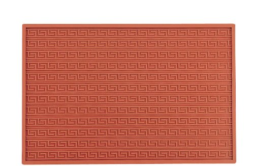Martellato 4 Silicone Greca Relief Mat, 30 mm, Brown
