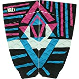Sticky Bumps Quizon Black / Pink Surfboard Traction Pad