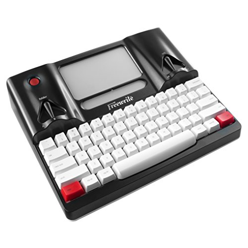 Freewrite Distraction-Free Writing Tool, Smart Typewriter, E Ink Display w/Frontlight, Cherry MX Mechanical Keyboard, Cloud Connected w/Wi-Fi (US Edition, ANSI)