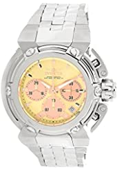 Invicta Pro Diver Chronograph Gold Dial Mens Watch 22427