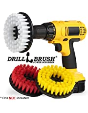 Tile and Grout Bathroom, Floor 3 Drill Brush Cleaning Kit