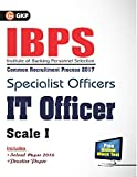 IBPS Specialist Officers IT Officer Scale I 2017