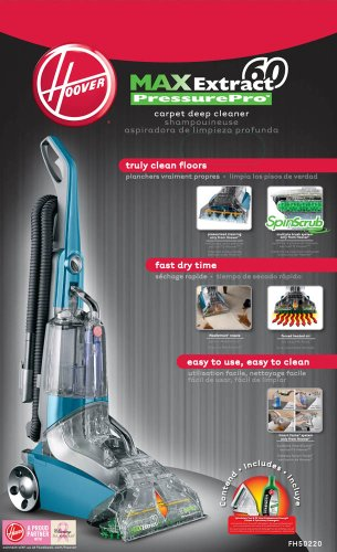 Hoover Max Extract 60 Pressure Pro Carpet Deep Cleaner FH50220