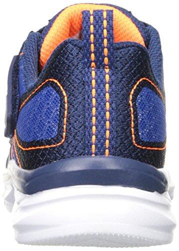 Scarpe da ginnastica Skechers Kids Advance (Little Kid), Royal / Orange