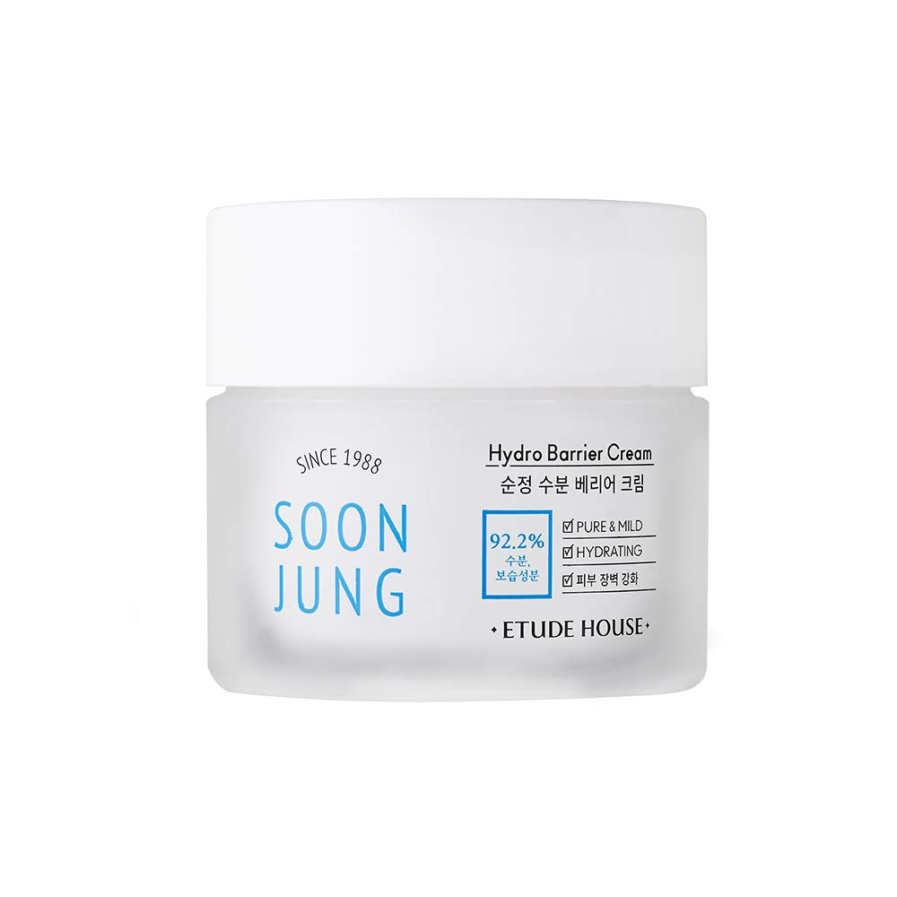 ETUDE HOUSE Soonjung Hydro Barrier Cream (75ml) | Moisturizing and soothing cream | Korean Skin Care | Care Solution for sensitive skin
