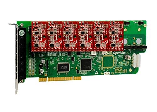OpenVox A800P06 8 Port Analog PCI Base Card + 0 FXS + 6 FXO