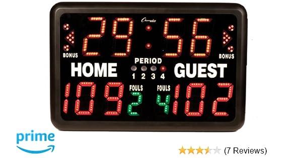 Champion Sports T90 Electronic Digital Scoreboard