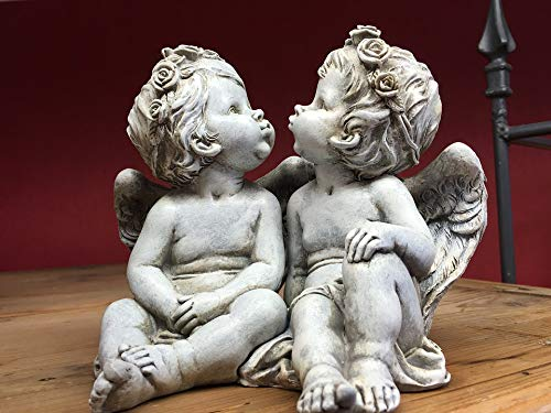 - Home Comforts Framed Art for Your Wall Love Sculpture Statue Religion Angels Cherub Vivid Imagery 10 x 13 Frame