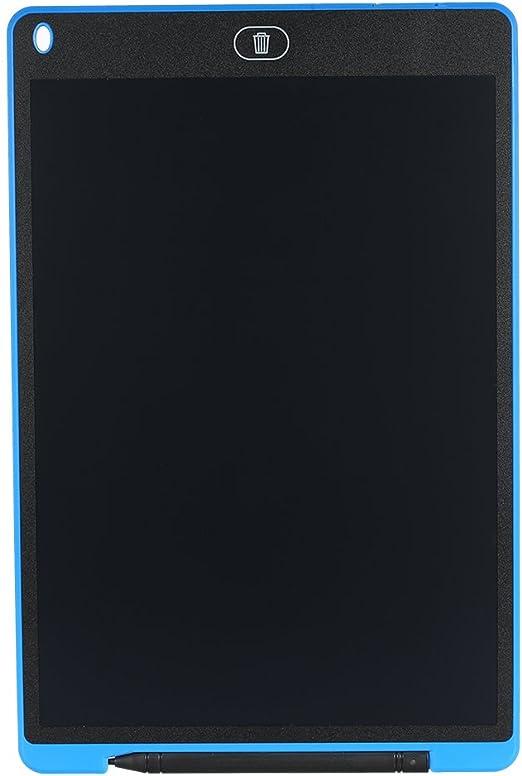 Tickas 12インチ、12インチのLCD書き込みタブレットグラフィック描画ボードポータブル超薄型スリムデザイン新しい電子グラフィティペインティングCaculusメモ帳子供のための環境にやさしいと目の保護(青)
