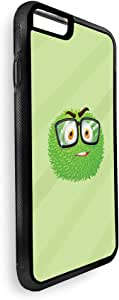 Printed Case for iPhone 6 Plus, Cartoons - Colorful monster with glasses