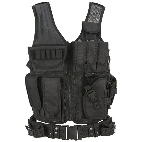 Barbarians Tactical Molle Vest Military Airsoft Paintball Vest Assault Swat Vest Adjustable Lightweight