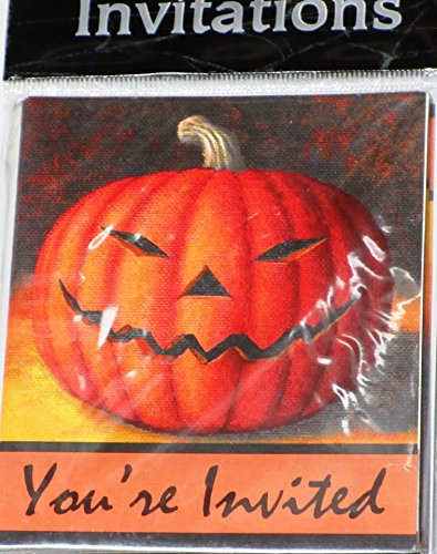 Halloween Party - You're Invited Pumpkin - 8