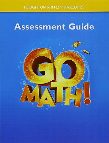 Go Math!: Assessment Guide Grade K