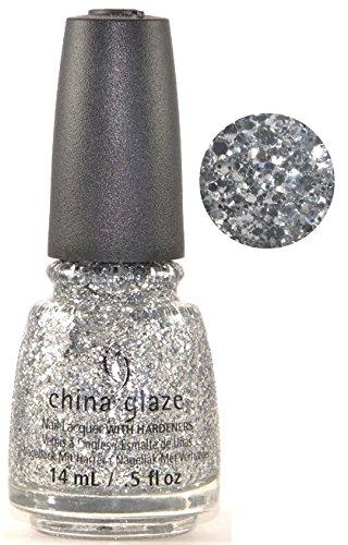 China Glaze Nail Polish-Silver Of Sorts 82699 .5 fl OZ