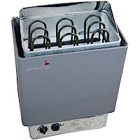 Poêle pour sauna 4,5kW pour 230ou 380V avec commande intégrée