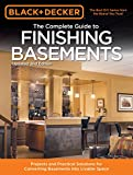 basement design ideas Black & Decker The Complete Guide to Finishing Basements: Projects and Practical Solutions for Converting Basements into Livable Space (Black & Decker Complete Guide)