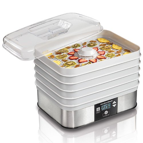 Hamilton Beach 32100A Food Dehydrator, Gray (1)
