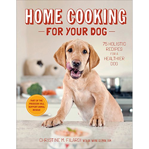 Healthy Cat Book - Home Cooking for Your Dog: 75 Holistic Recipes for a Healthier Dog