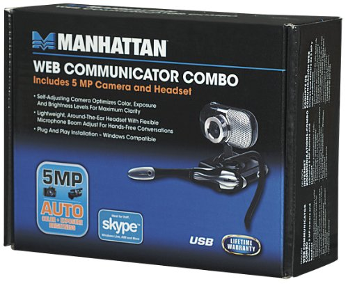 Manhattan Web Communicator Combo - Black/Silver (460507) by Manhattan Products (Image #11)