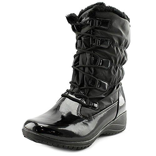 付与ばかげた内部Khombu Womens Audrey Round Toe Cold Weather Boots