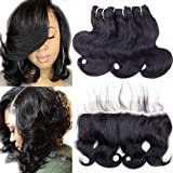 Best Hair Bundles With Laces - 10A Human Hair Bundles with Lace Frontal Body Review