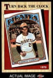 1987 Topps # 313 Turn Back The Clock Roberto Clemente Pittsburgh Pirates (Baseball Card) Dean's Cards 8 - NM/MT Pirates