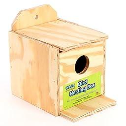 Ware Manufacturing Wood Finch Regular Nest Box, Finch