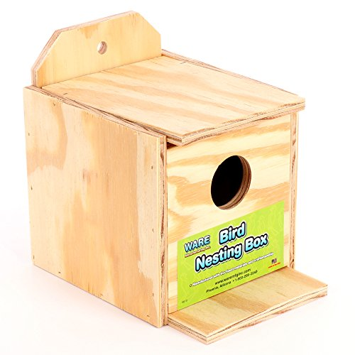 Ware Manufacturing Wood Finch Regular Nest Box, Finch