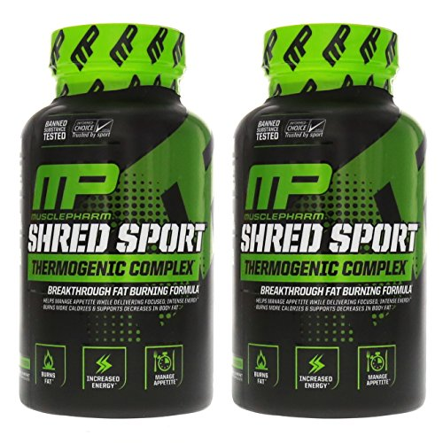 MusclePharm Shred Sport Thermogenic Fat Burner 120 Caps