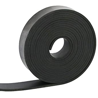 Strips 1//32 Rolls Neoprene Rubber Sheet Thick x 12 Wide x 12 Long Solid Rubber .032