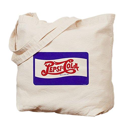 CafePress–Pepsi logo–Gamuza de bolsa de lona bolsa, bolsa de la compra Small caqui