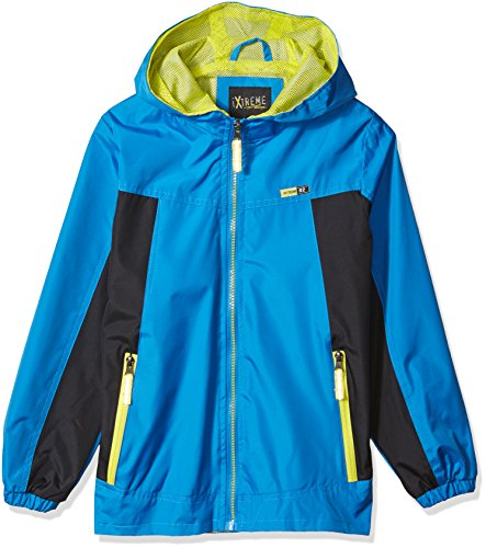 iXtreme Big Boys' Ripstop Active Jacket With Mesh Lining, Blue, 8