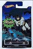 Hot Wheels Batman Classic TV Series Batmobile Toy Car - Black (2017)