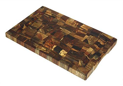 (Mountain Woods EGM914 9 X 14 Mosaic End Grain Cutting Board, 9 X 14 X 1)