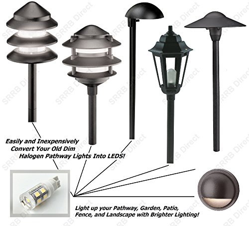 SRRB Direct 1.5W LED Replacement Landscape Pathway Light