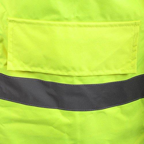 Baratec Herren Hi-Vis Coat Jacke–gelb, xxxx-large