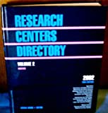 Research Centers Directory, , 0787642827