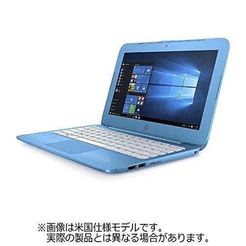 HP 11.6型ノートPC[ Home Celeron eMMC 32GB メモリ 4GB] HP Stream 11-y004TU アクアブルー Y4G19PA-AAAA (2016年12月モデル)