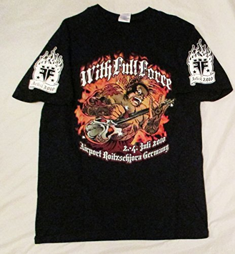 2010 Gary Holt's Worn Exodus Slayer With Full Force Artist Issued Concert T-Shirt